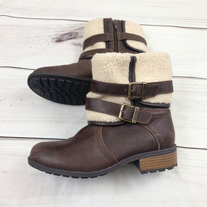 Khombu Sherpa Lined Ankle Boot 6M
